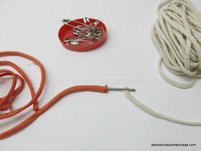 cordón de relleno