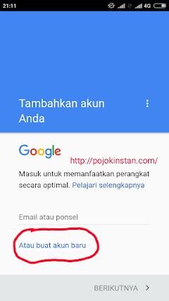 Cara Membuat Email Gmail Pada Android