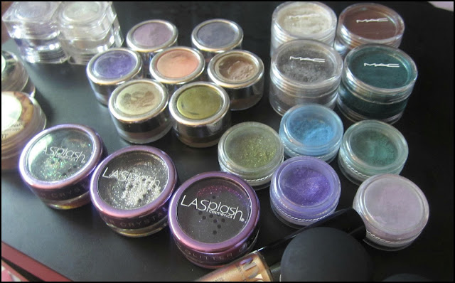 My Eyeshadow Collection | Pigments & Glitters