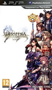 Dissidia 012: Duodecim Final Fantasy Civer