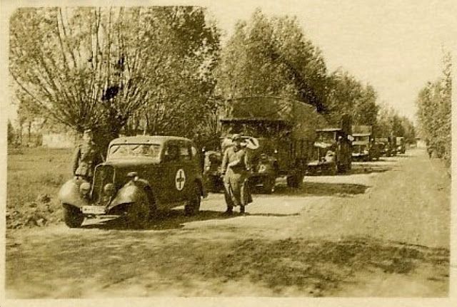 Trucks prepared for Operation Barbarossa 21 June 1941 worldwartwo.filminspector.com