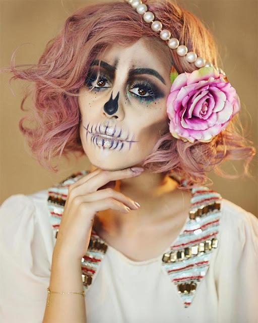 pretty halloween makeup ideas 2018