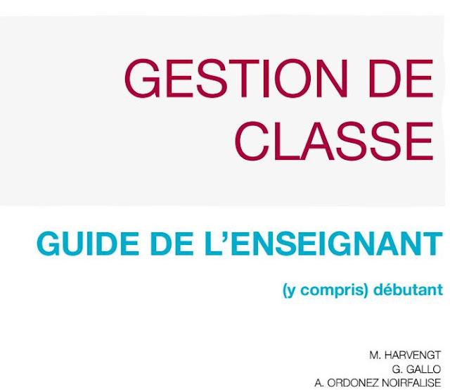 Gestion de Classe:Guide de l'enseignant