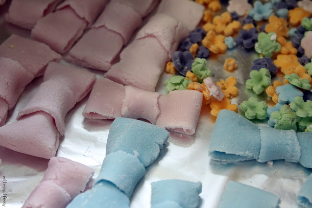 Fiocchi di pasta di zucchero