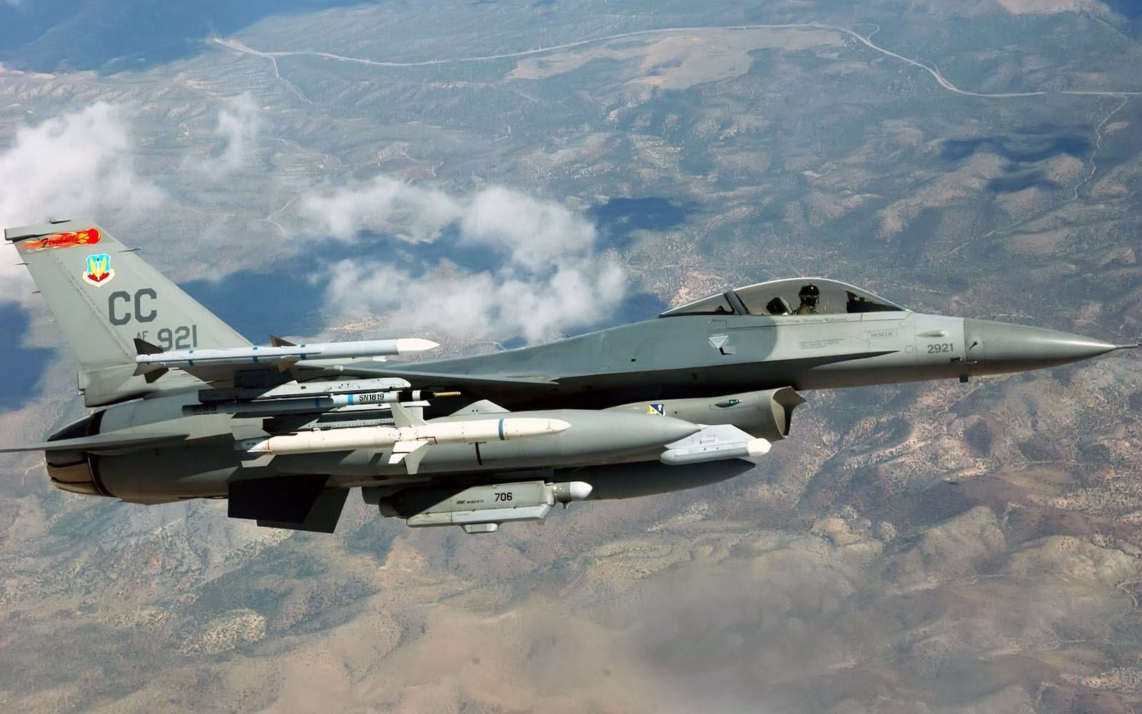 King Of Cars >> wallpapers: General Dynamics F-16 Fighting Falcon Wallpapers