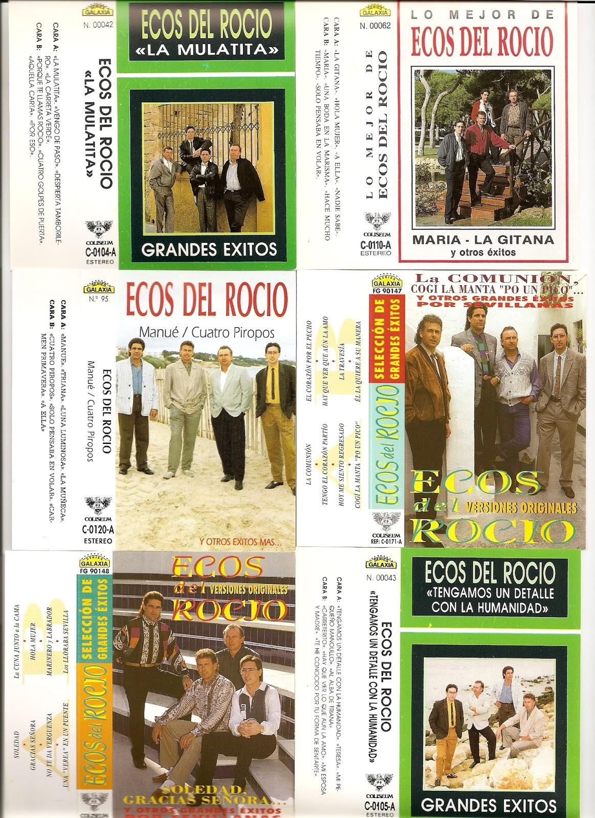Cassette Ecos Del Rocío