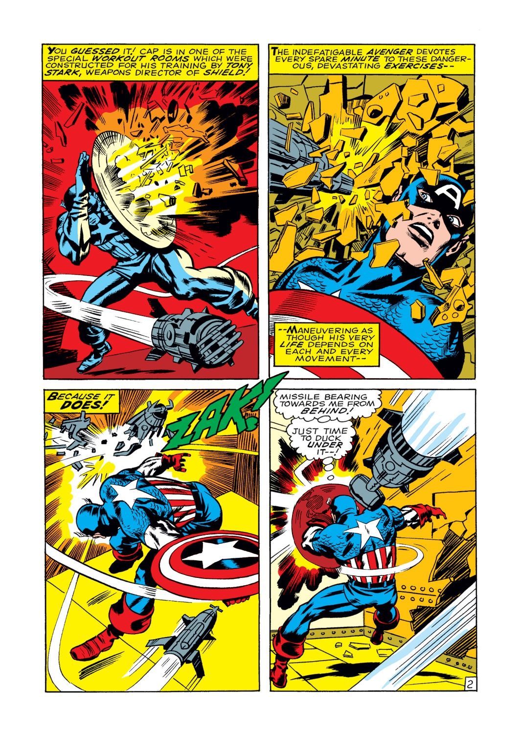 Captain America (1968) Issue #108 #22 - English 3