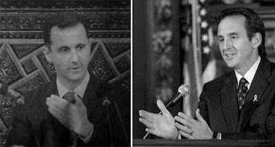 Star Tribune article with photo of Bashar Assad