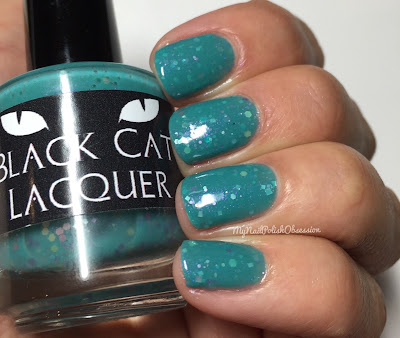 A Box Indied March 2016, Spring Theory; Black Cat Lacquer Eggcellent