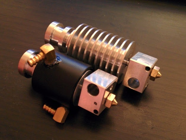 DIY 3D Printing: Liquid cooling modification for E3D v4 and