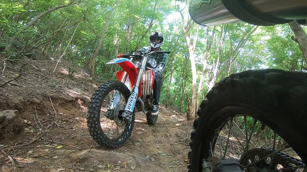 My Trip My Adventure berkelana Lombok dengan motor trail