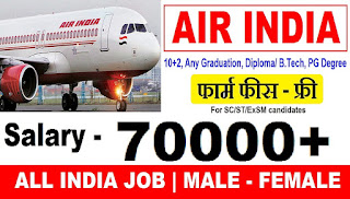 Air India Recruitment 2018 – 46 Manager, Sr Officer & Other Posts