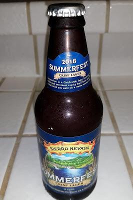 beer bottle - Sierra Nevada Summerfest
