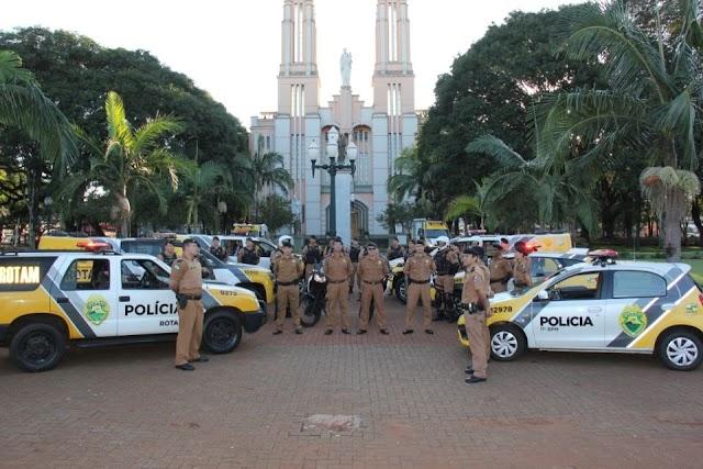 Operação Tiradentes teve início em Campo Mourão