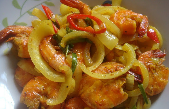 resepi udang goreng kunyit  mudah  sedap resepi masakan asia tenggara Resepi Jejari Udang Rangup Enak dan Mudah