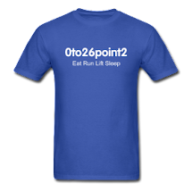 0to26point2 Shirts For Sale (Mens/ Womens)