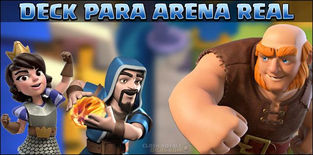 Deck para Arena 7