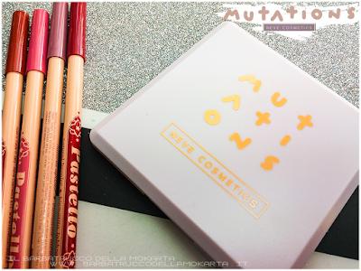 Mutations Palette  - Collezione Mutations - Neve cosmetics