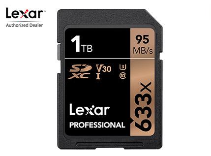 Карта памяти Lexar SDXC 1TB 633x UHS-I V30 U3
