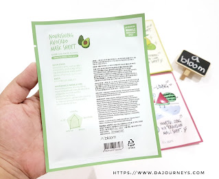 Review A'BLOOM Refreshing Skin Mask Pack