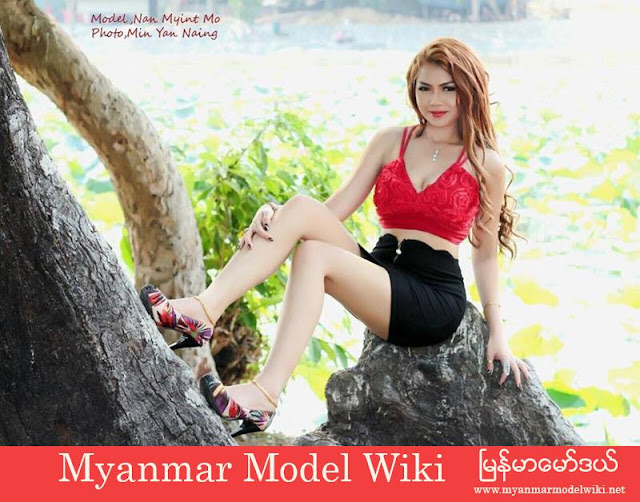 Nan Myint Mo Shows Off Her Body Curve In New Fashion Photoshoot