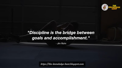 Inspirational Quotes for 2019 To Develop Self Discipline | The Knowledge Hunt