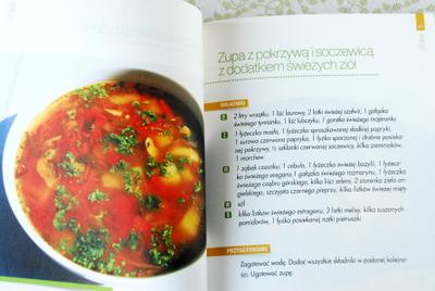 Zupa z pokrzywą