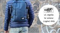 Logo Partecipa gratis e vinci lo zaino CabinZero con ''The colours of my closet''