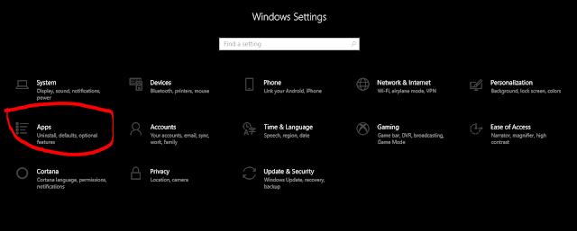 Cara hapus skype dari Windows