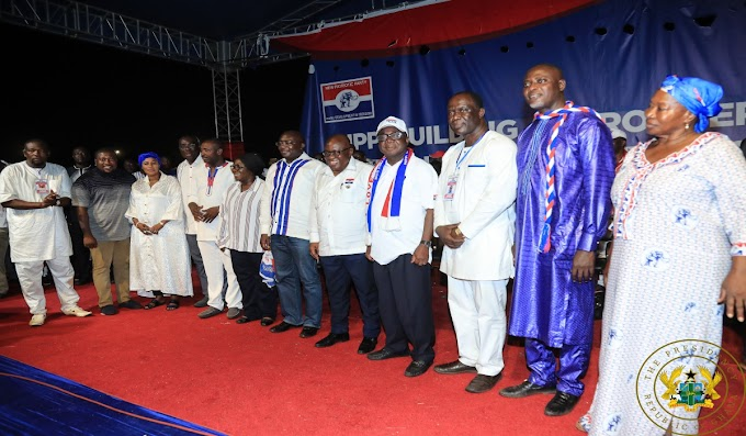 President Akufo-Addo Congratulates New National Officers Of The New Patriotic Party
