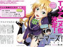 Gamers! - Anime da temporada de verão ganha Imagem Promocional