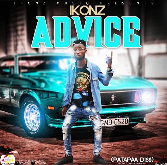 Ikonz-Advice(Patapaa Diss)prod by Kojo beatzgh