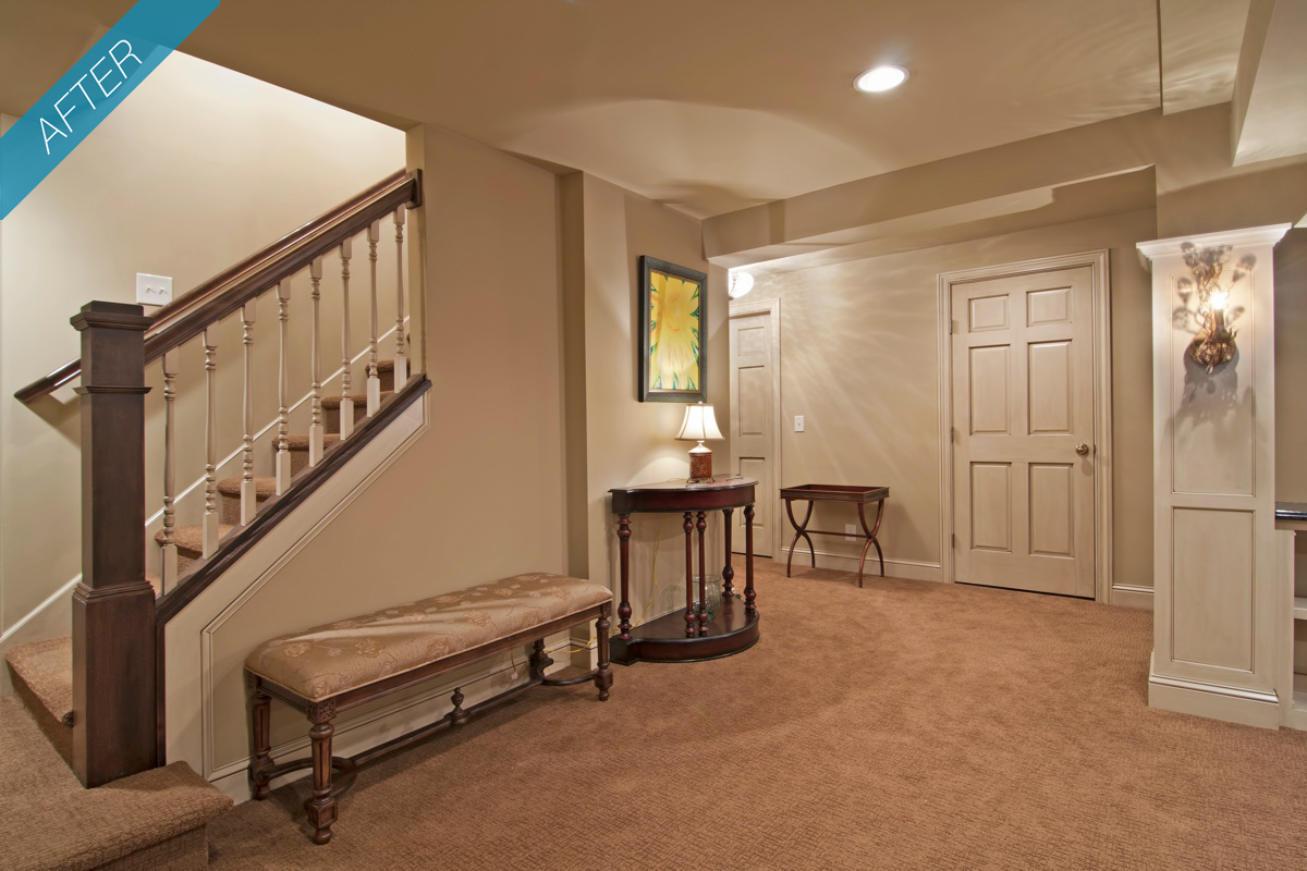 Basement Stairs Design: My Home Design: Basement Furniture Things