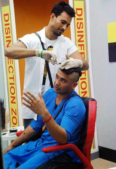 Hairdo of Sangram