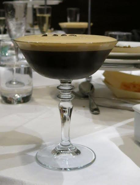 High Tea at the Intercontinental - Rialto: espresso martini