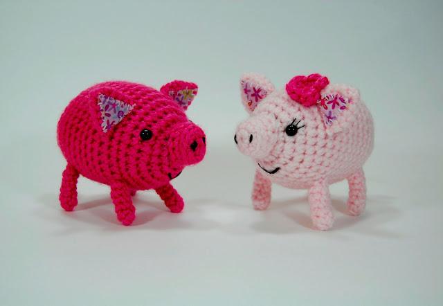 Kissing Piggies! Free Valentine's Day Pattern
