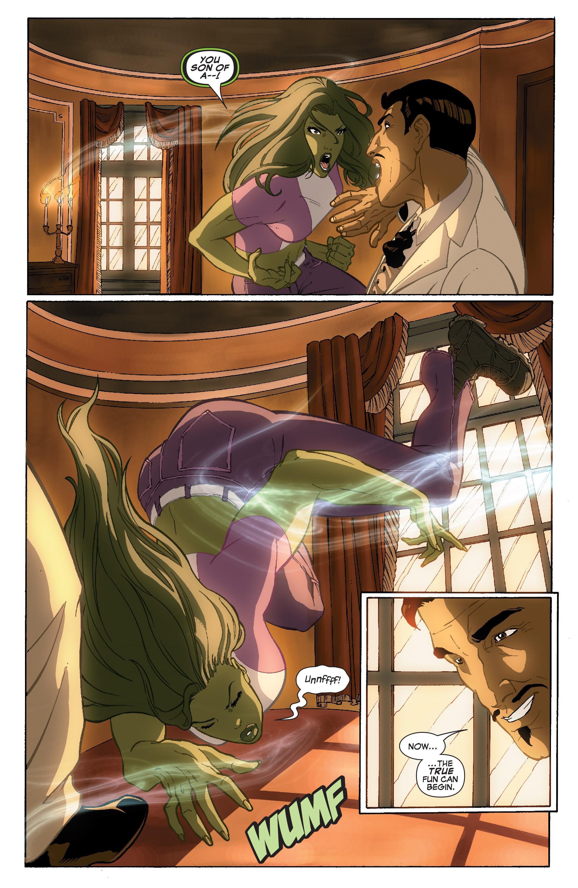 Read online She-Hulk (2005) comic -  Issue #36 - 9