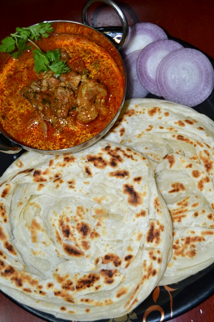 how to make south indian parotta