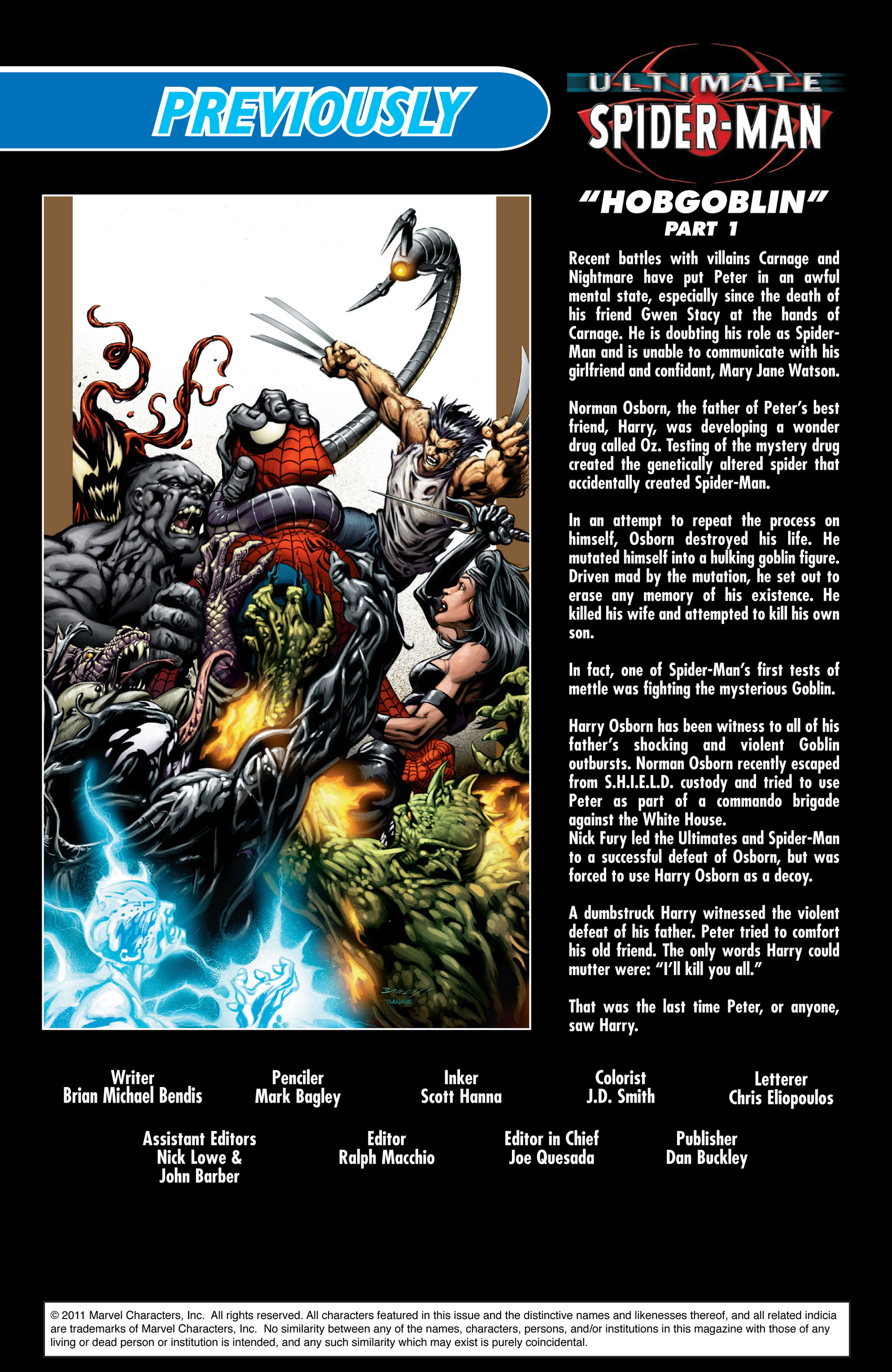 Read online Ultimate Spider-Man (2000) comic -  Issue #72 - 2