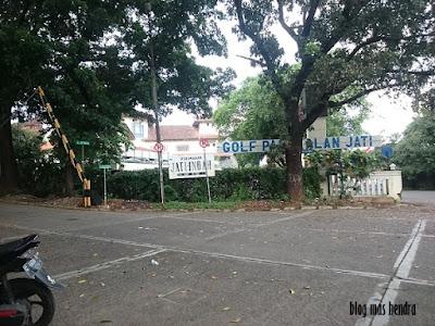 Jalan Jati Indah Jati Padang Golf ⛳ - Blog Mas Hendra