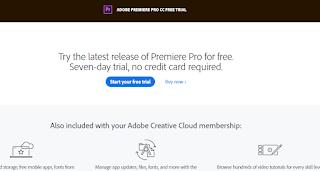 Software Edit Video untuk Laptop Terbaik Adobe Premiere Pro