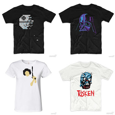 Star Wars Summer 2015 T-Shirt Collection by Super7