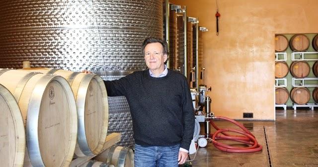 """""""Colline di sopra"""", una bella azienda vitivinicola biologica di montescudaio (pi), ha un nuovo proprietario con una grande passione."""