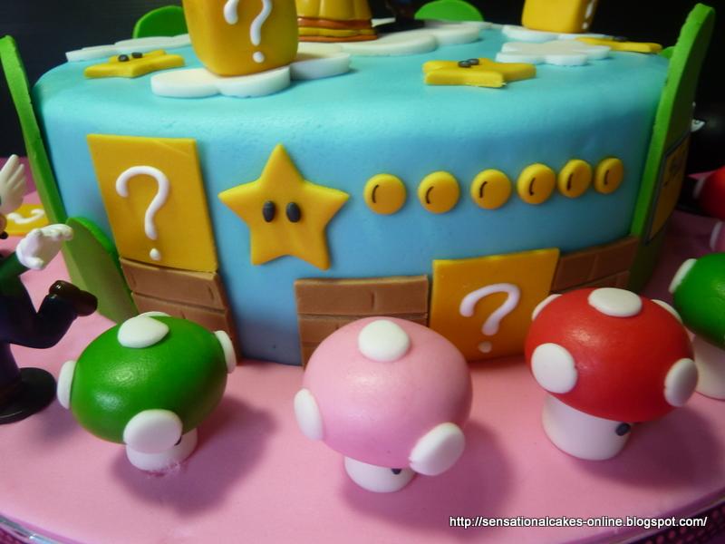 Cakes2share Singapore Super Mario And Princess Peach
