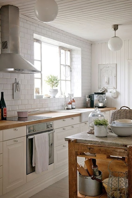 Chic Country Style Kitchens 6
