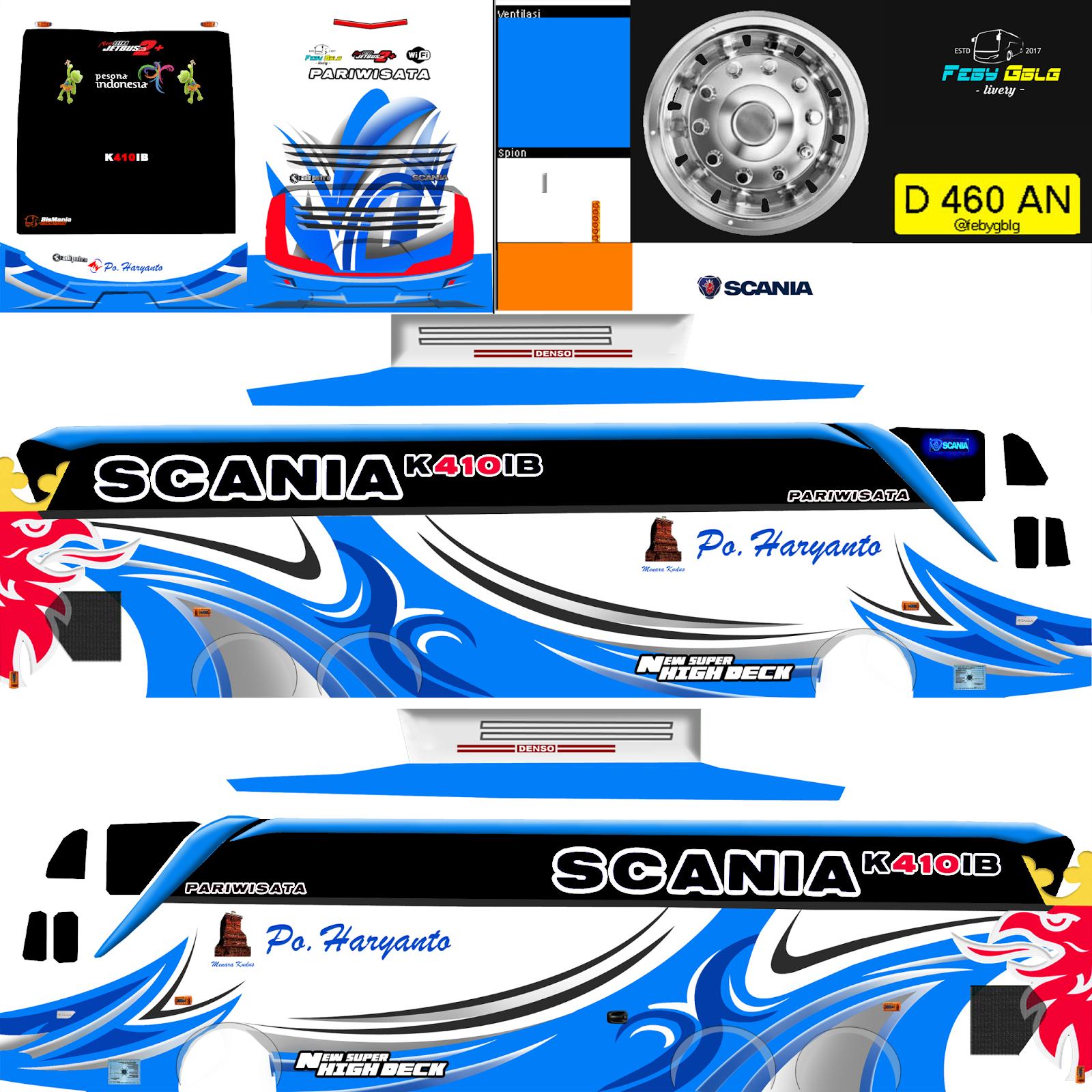 Livery Bus Scania Shd