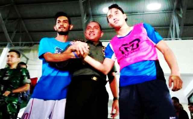 Cedera Lutut Martunis Gagal Bela PS TNI U-21