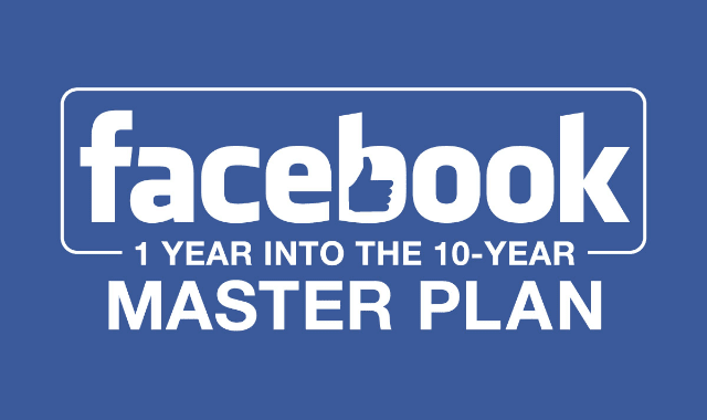 Facebook 1 Year Into the 10 Year Master Plan