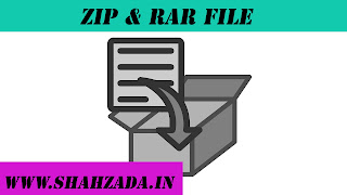 WHAT IS ZIP & RAR FILE
