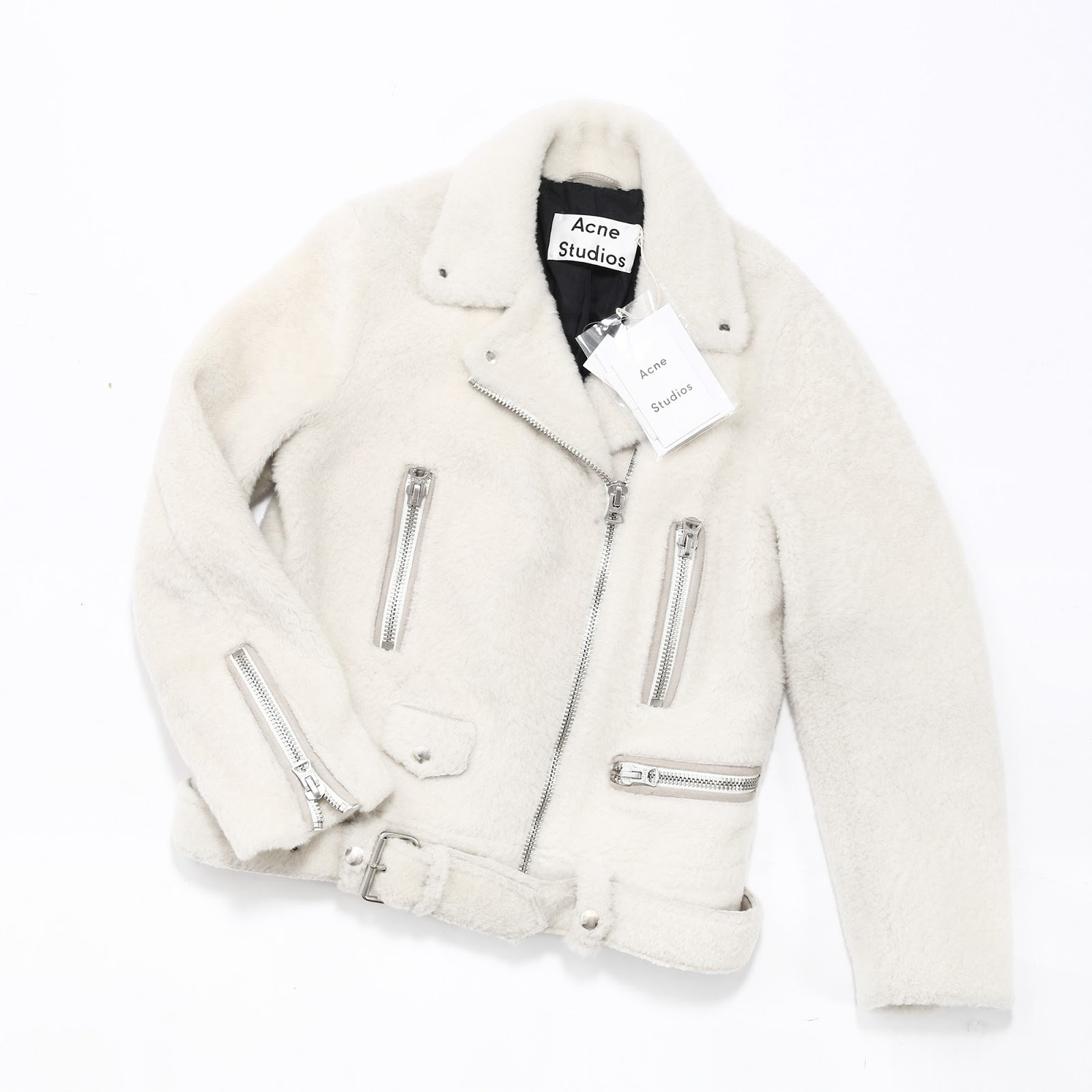 Gorgeous shearling jacket from the Swedish brand ACNE STUDIOS. 4dd2f192ff7